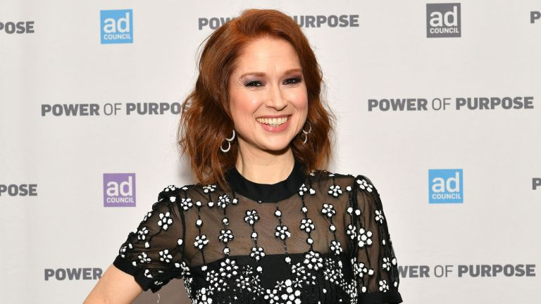 Ellie Kemper, Ellie Kemper Veiled Prophet Society, NEW YORK, NEW YORK - DECEMBER 05: Ellie Kemper attend the 2019 Ad Council Dinner on December 05, 2019 in New York City. (Photo by Dia Dipasupil/Getty Images)