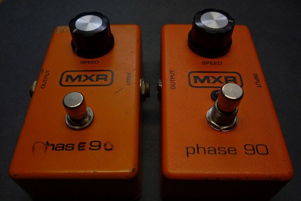 Phaser Pedal Conventions and Best Practices