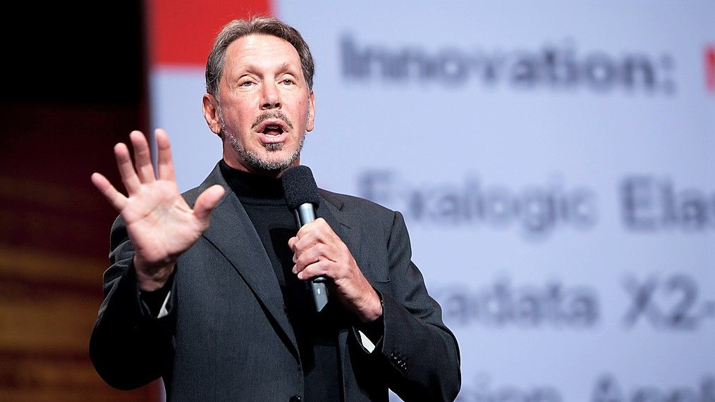 Oracle staff walk out after founder endorses Trump campaign