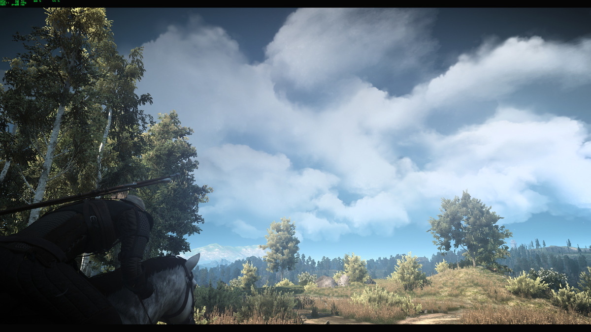 This gorgeous Witcher 3 hyper-realistic cloud mod will stop you in