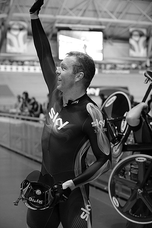 Sir Chris Hoy, Manchester Track Cycling World Cup 2009