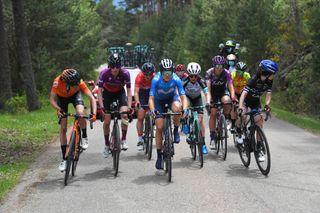 The breakaway on stage 4 of Vuelta a Burgos Feminas