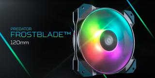 Image of the Acer Predator FrostBlade with RGB on.