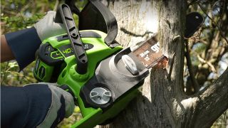Cordless chainsaw Prime Day deal: 37% off a top-rated Greenworks chainsaw