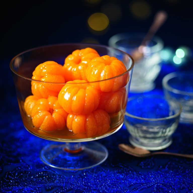 Mandarins In Orange And Caramel Syrup