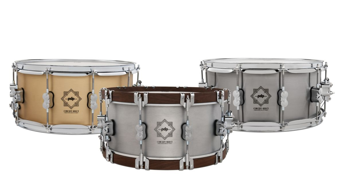 NAMM 2020: DW unveils three PDP Concept Select metal snares