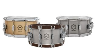 PDP's new Concept Select metal (aluminium, bell bronze and steel) snares