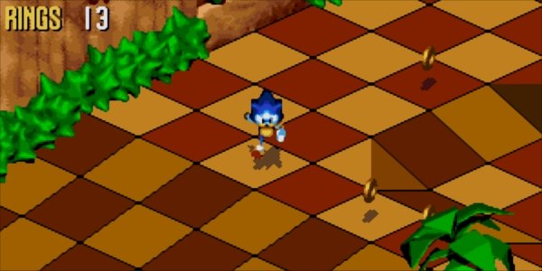 Why Punching Sonic 3D Blast Opened A Level Select Screen