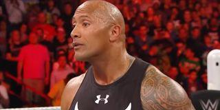 """Dwayne """"The Rock"""" Johnson Monday Night Raw USA"""