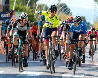 Sandra Alonso (Bizkaia Durango) wins stage 2 at Setmana Ciclista Valenciana