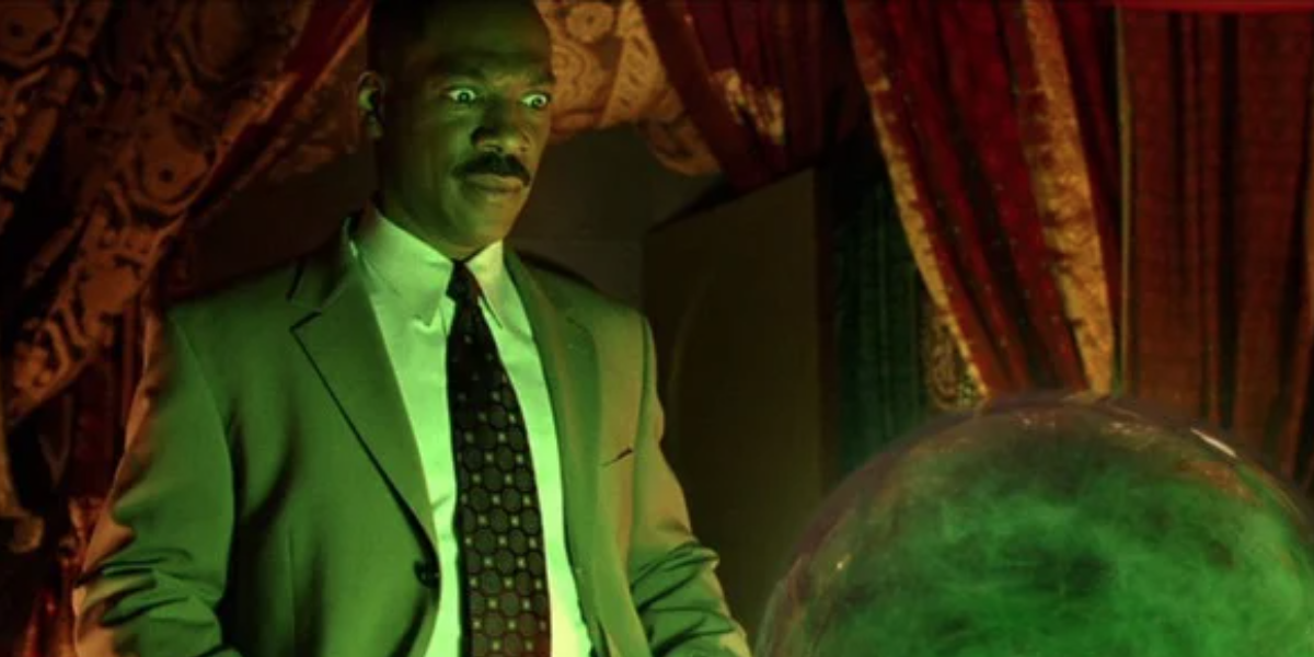 Still from The Haunted Mansion trailer