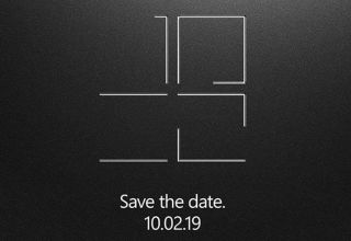 microsoft surface event save the date