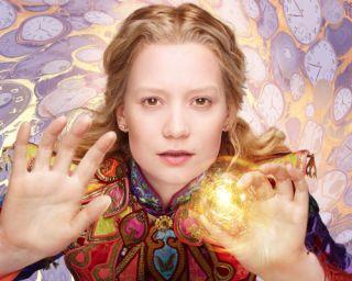 Alice in Alice Through the Looking Glass Mia Wasikowska