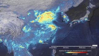 A view from space of how emissions are changing in response to coronavirus.