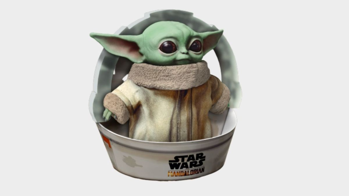 Want your own Baby Yoda? Then you'll have to pre-order this plush at Walmart