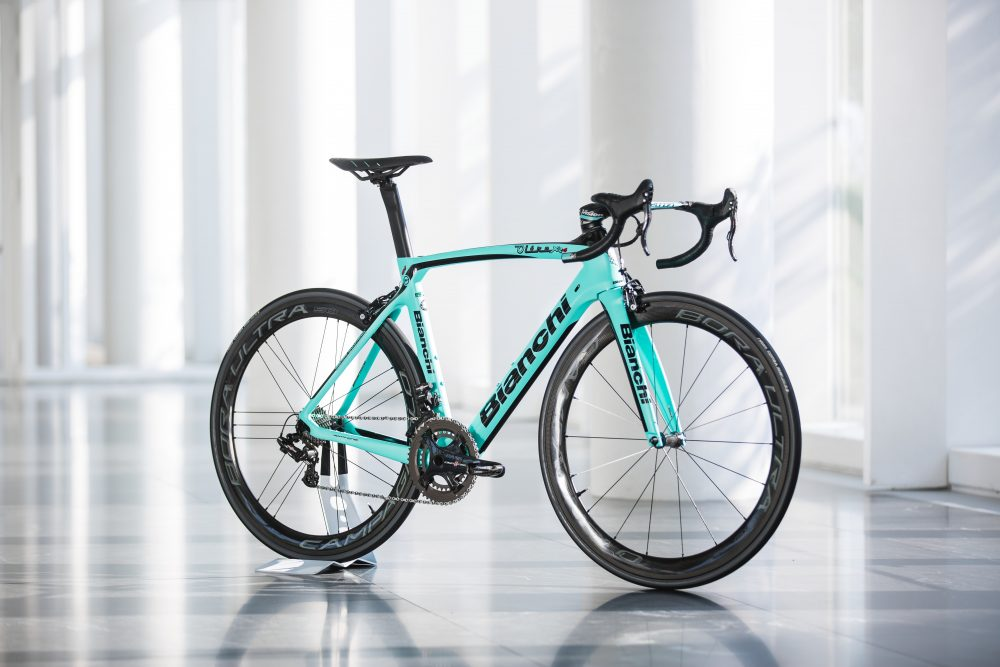 new bianchi oltre xr4 cv aero bike launched in italy