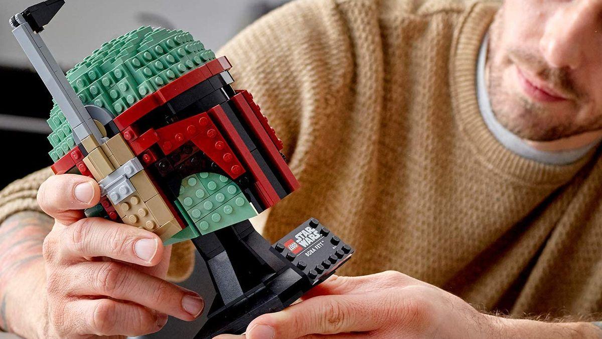 Save $12 on Mandalorian majesty with the Lego Boba Fett helmet - Gamesradar