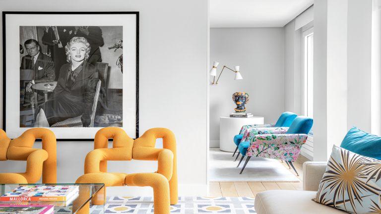Colourful Madrid apartment