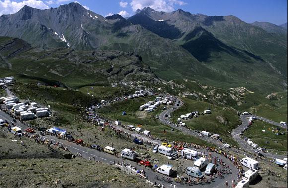 Climbs On Tour De France