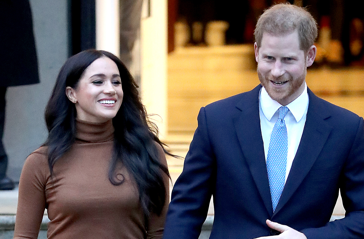 Prince Harry and Meghan Markle make surprise visit to American university