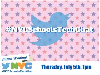 #NYCSchoolsTechChat: #ISTE19 - Thursday at 7 p.m. EST