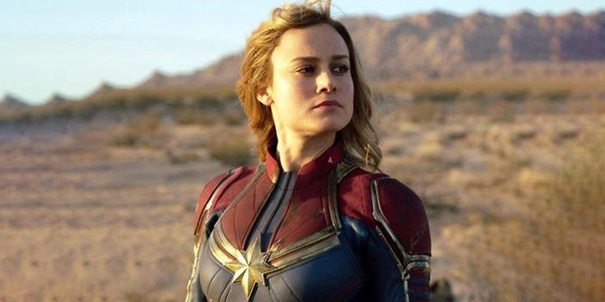 Brie Larson as Captain Marvel in solo movie