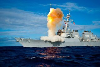 U.S. Navy Shoots Down Target Missile in Space