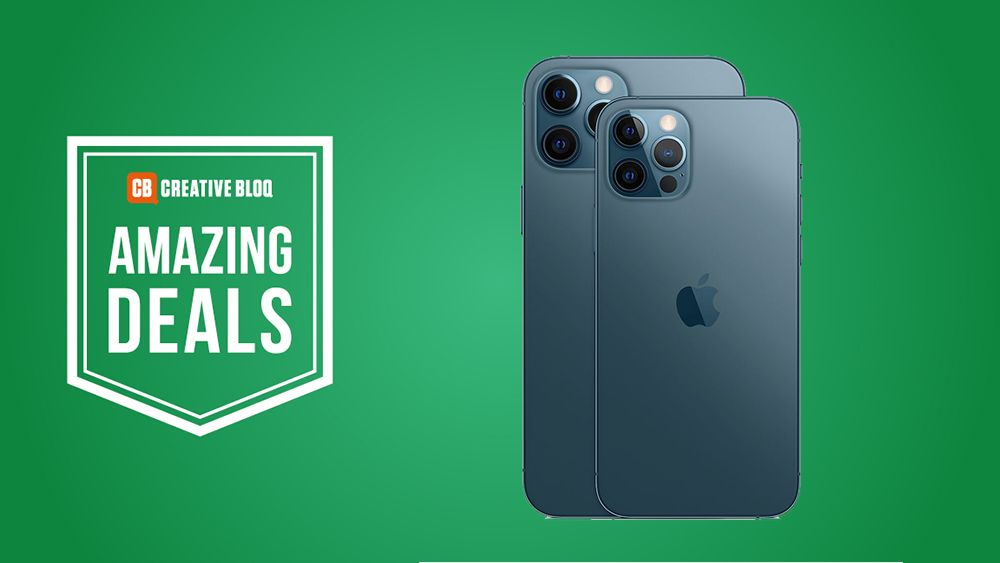 Massive Black Friday Iphone 12 Deal Save 550 On Iphone 12 Or 12 Pro Creative Bloq