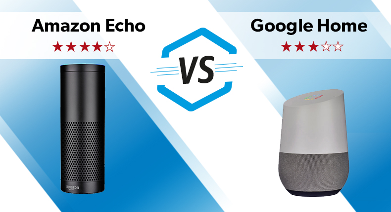 8268878ff06 Amazon Echo vs Google Home – which is better