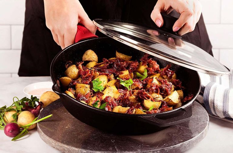 Cuisinel Pre-Seasoned Cast Iron Skillet