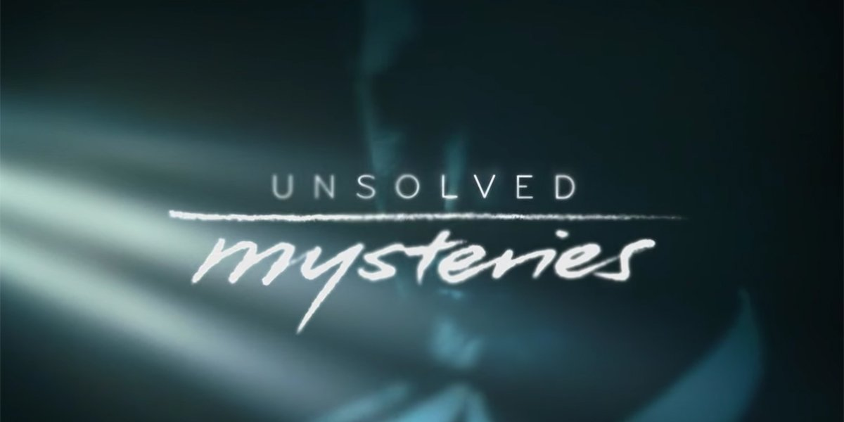 Unsolved Mysteries Netflix 2020 logo