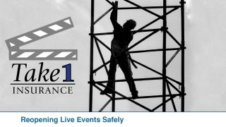 """The white paper """"Reopening Live Events Safely: An Industry View"""" is available for download from Take1 Insurance."""