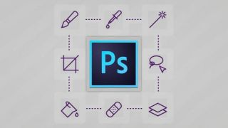 Photoshop logo and icons