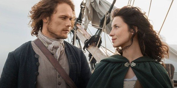 Jamie And Claire Outlander Starz