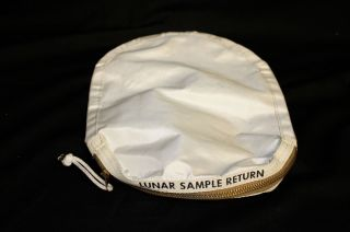 lunar sample bag from Apollo 11