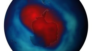 ozone hole at its biggest in 2013