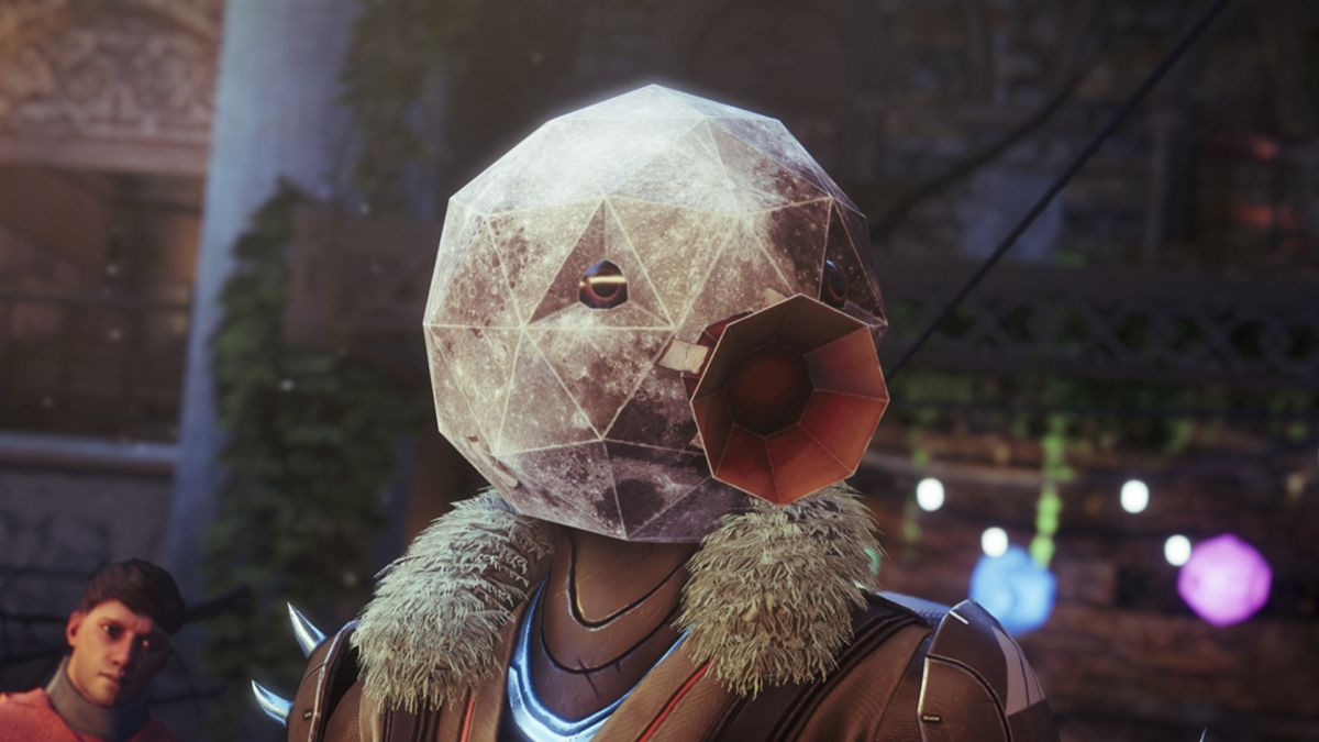 In space, no one can hear you honk with this horrifying Destiny 2 goose mask