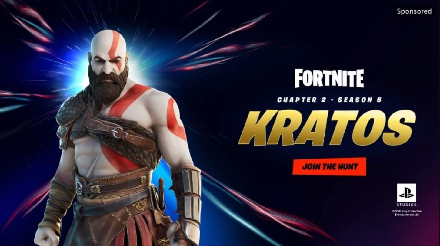 kratos fortnite skin