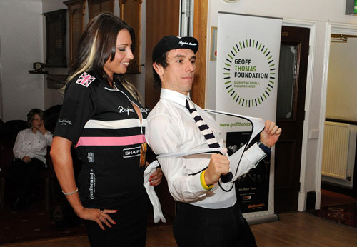 Rapha kit auction, Downings' Out of the Saddle charity night 2009