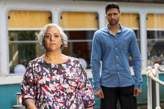 Misbah Maalik and Shaq Qureshi in Hollyoaks