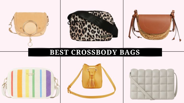 collage of the best crossbody bags