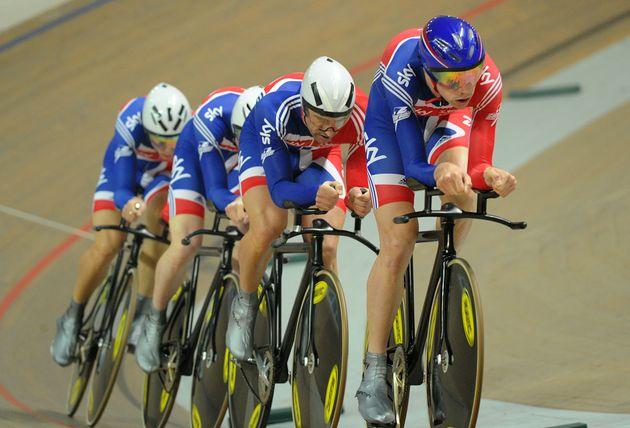 GB team pursuiters, European Track Championships 2010