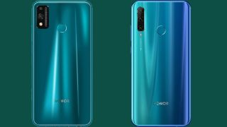 Honor 9X Lite (L) and Honor 20e (R)