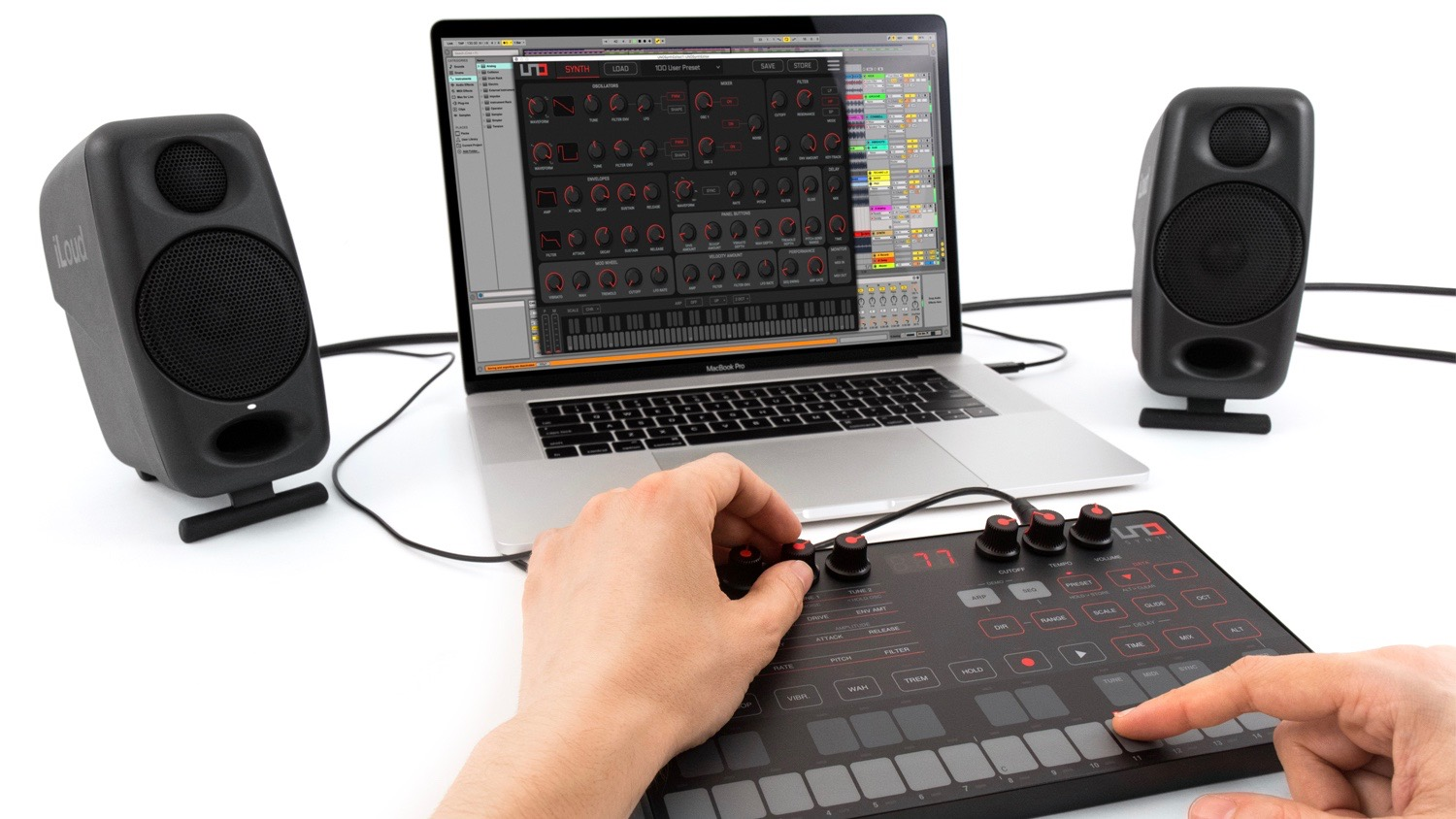 IK Multimedia's Uno synth editor promises seamless control