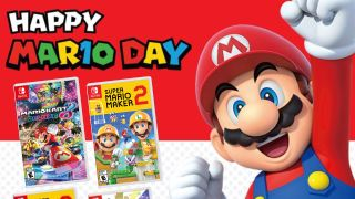 Mario Day sale offers big savings on Nintendo Switch games like Mario Kart and Super Mario Maker 2