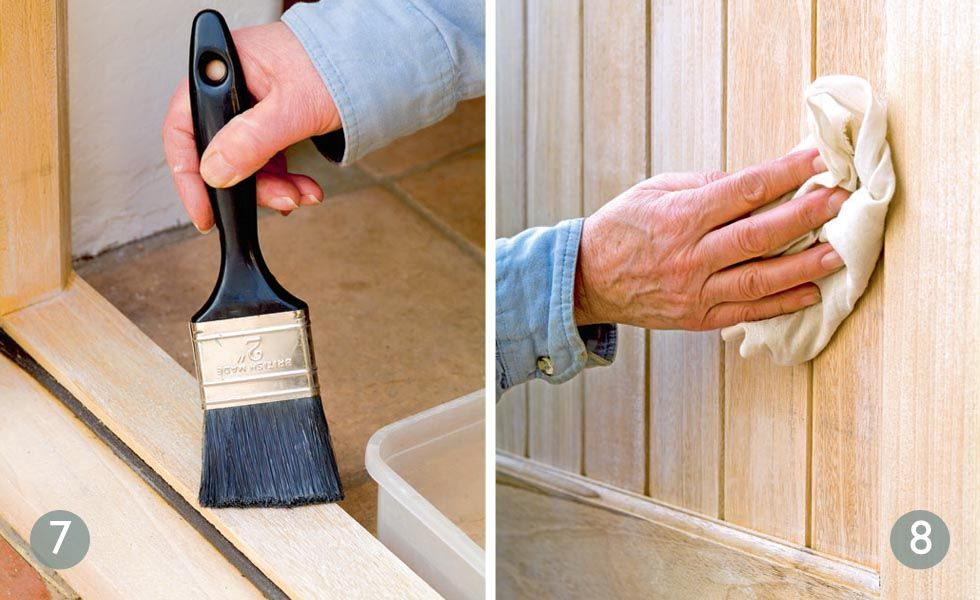 How To Lime Wood Everything You Need To Get That White Wash Effect Real Homes