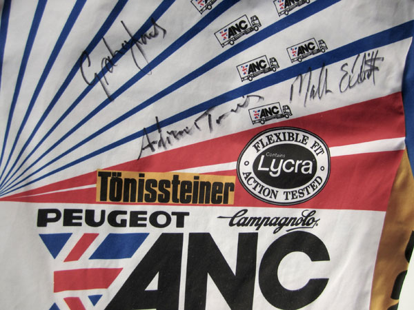 ANC jersey, Rob Jefferies auction