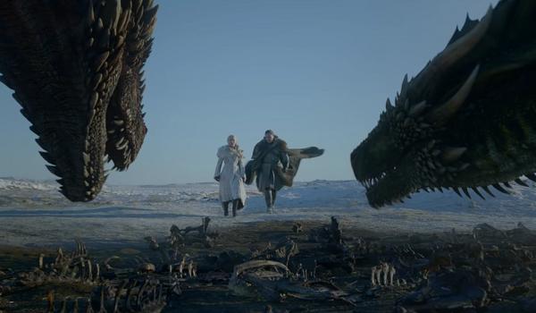 Drogon Rhaegal Game of Thrones HBO