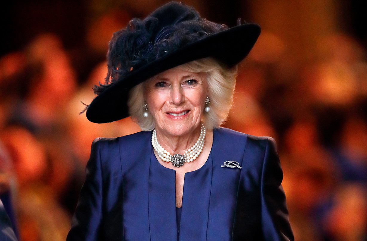 Duchess Camilla gives fans glimpse into personal bookshelf