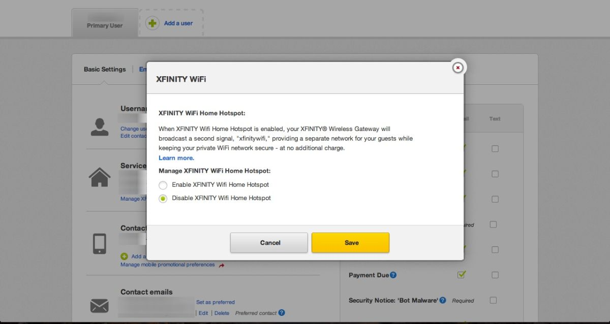 How to Disable Comcast Xfinity Public Wi-Fi - Tom's Guide